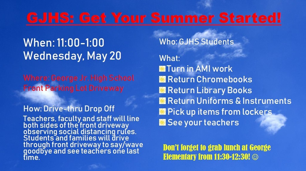 GJH: Get Your Summer Started Flyer