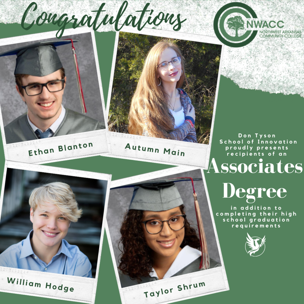 DTSOI Associates Degree winners