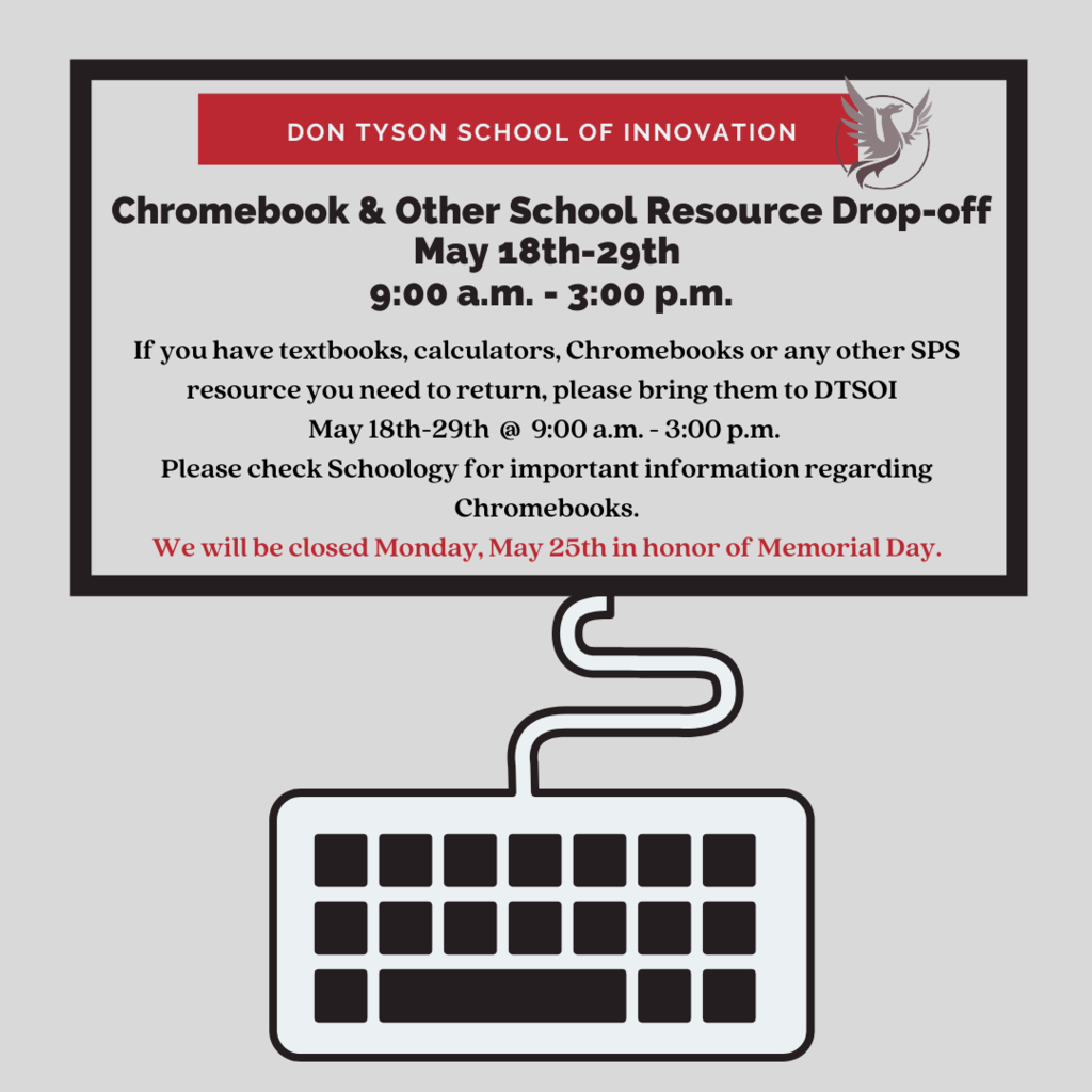 School resource drop-off