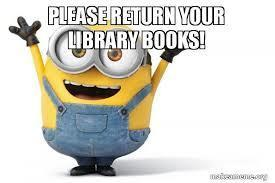 Bring your books back!