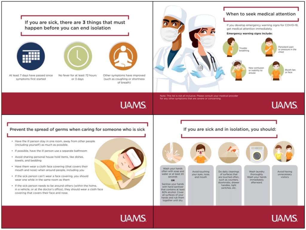 Here is helpful information from UAMS to keep your family safe!