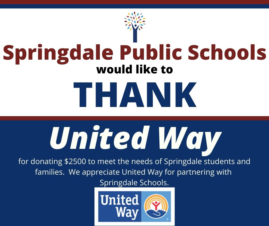 Thanks to United Way