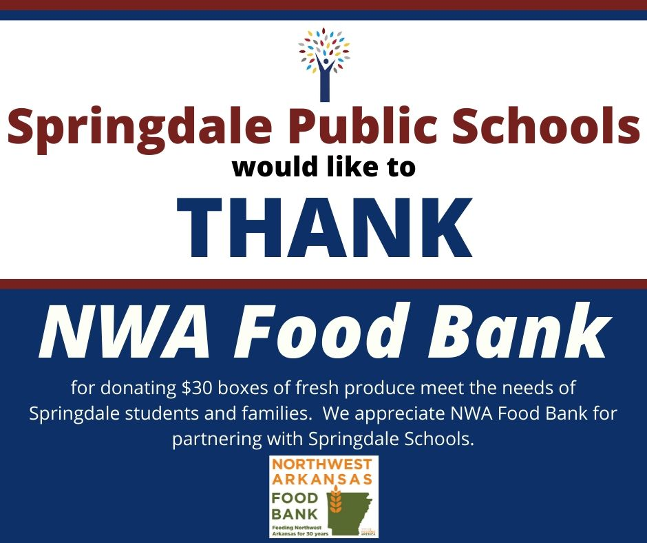 Thanks NWA Food Bank