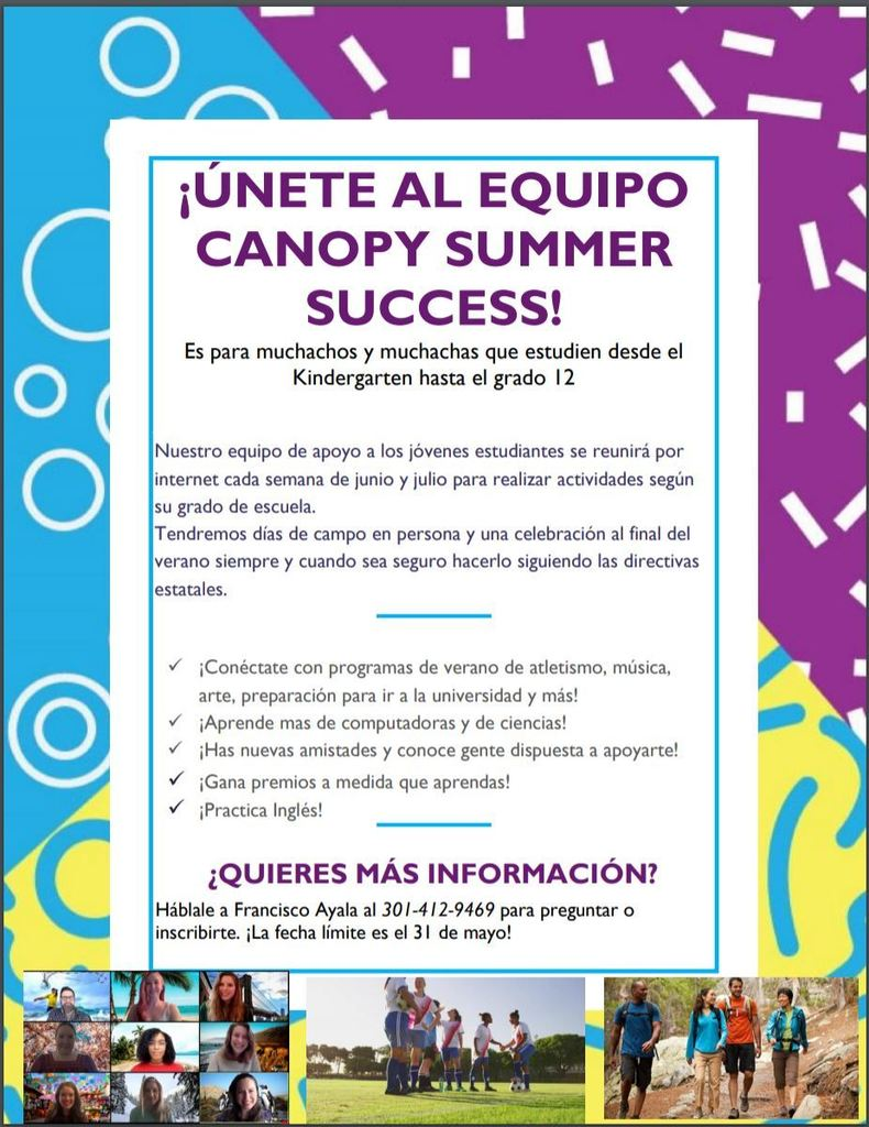 ESL Summer Program, Spanish