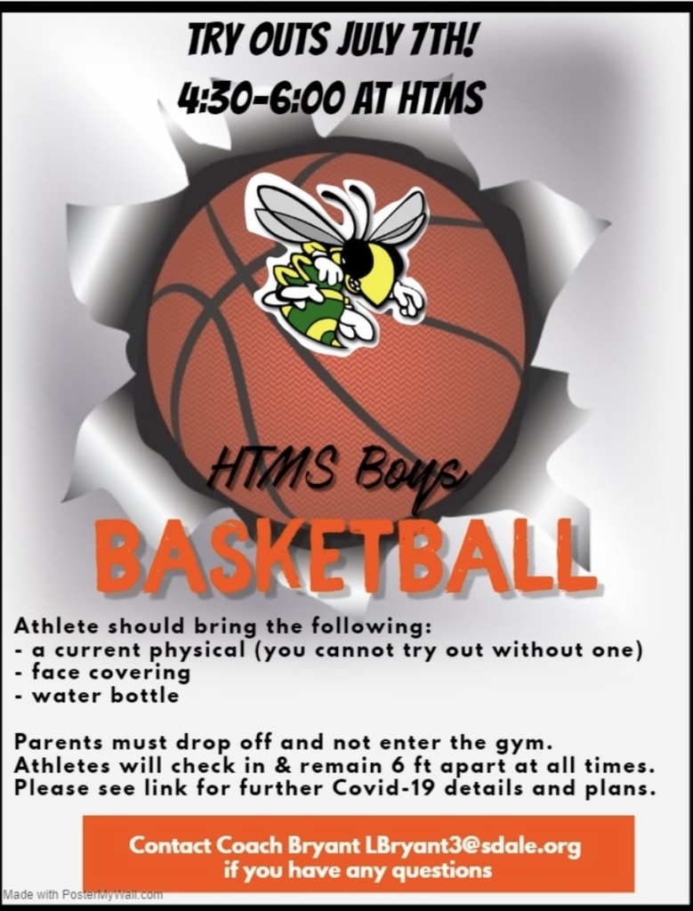 See you at HTMS Gym July 7