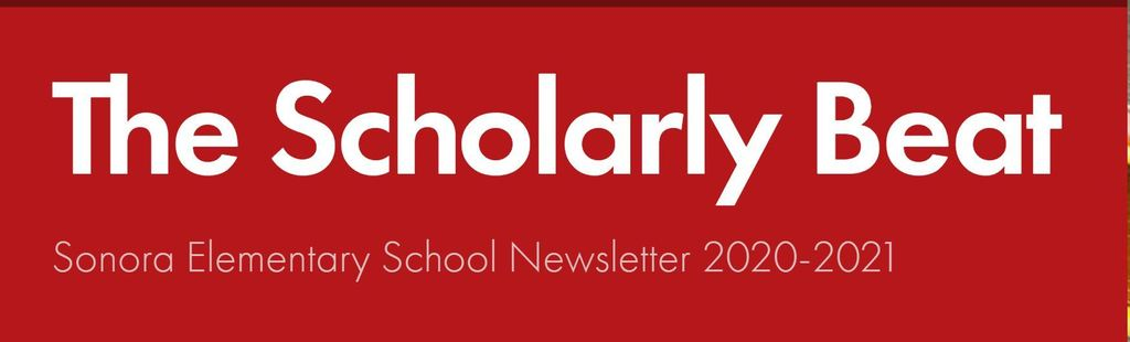 Sonora's Newsletter