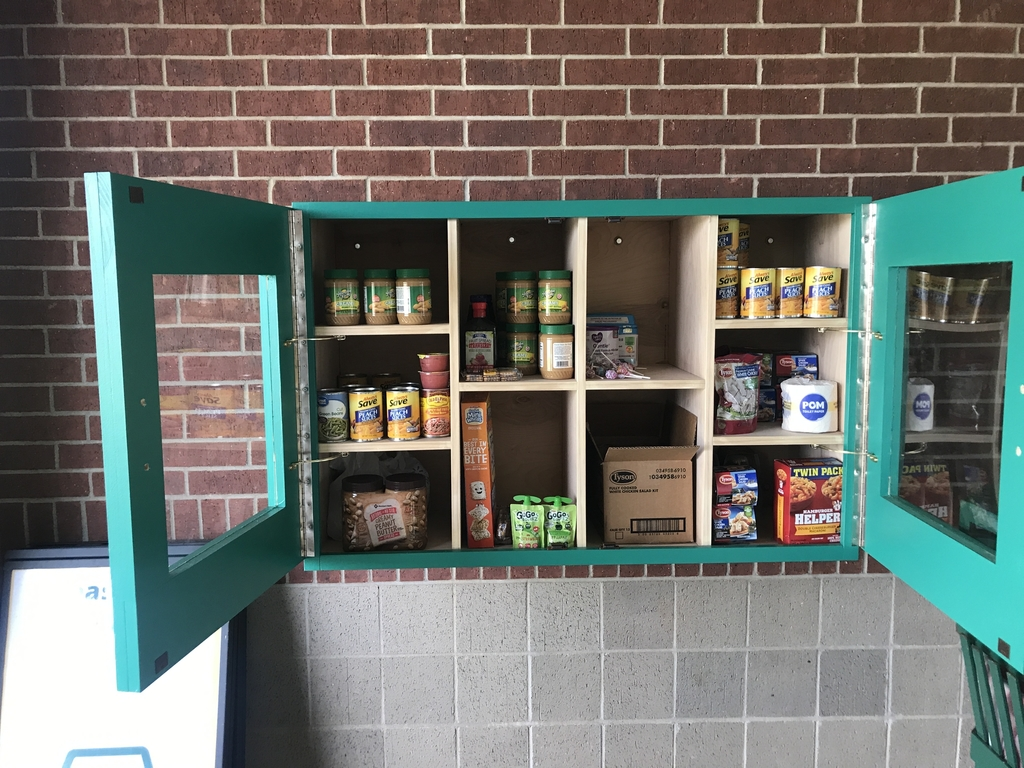 HTMS food pantry