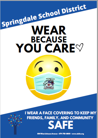 GJHS Wear Because You Care graphic