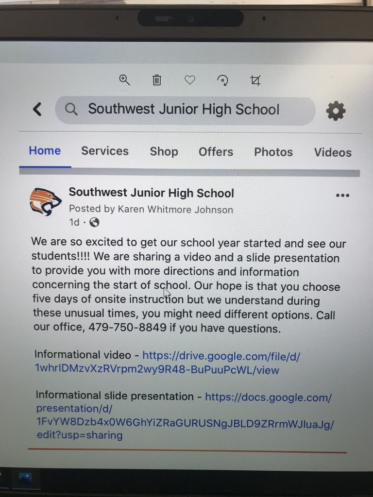 SWJH information