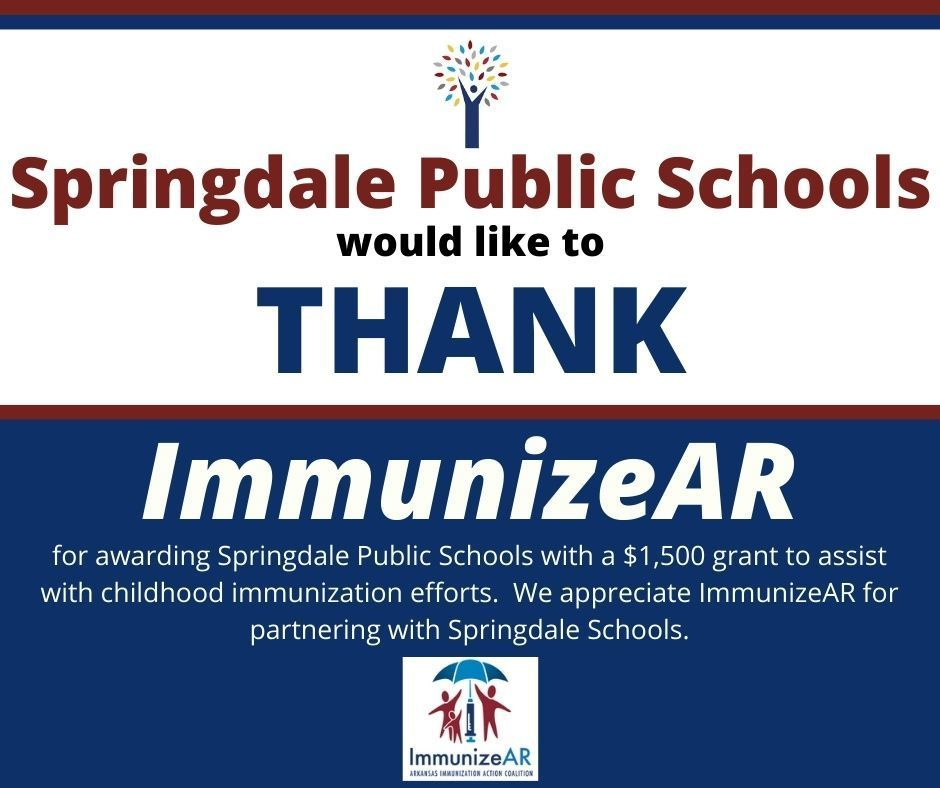 Thank you ImmunizeAR