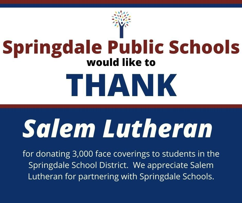 Thank you Salem Lutheran