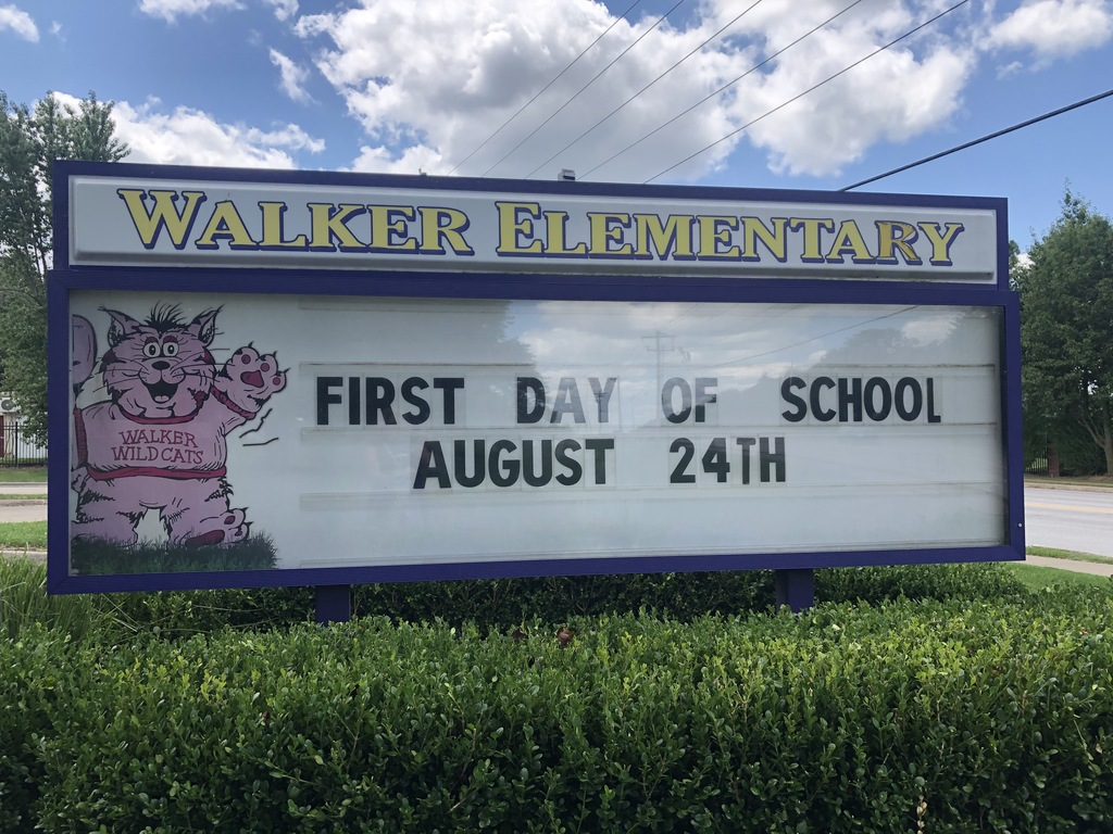 Do you need to enroll your child in school? The first day of school is August 24th.