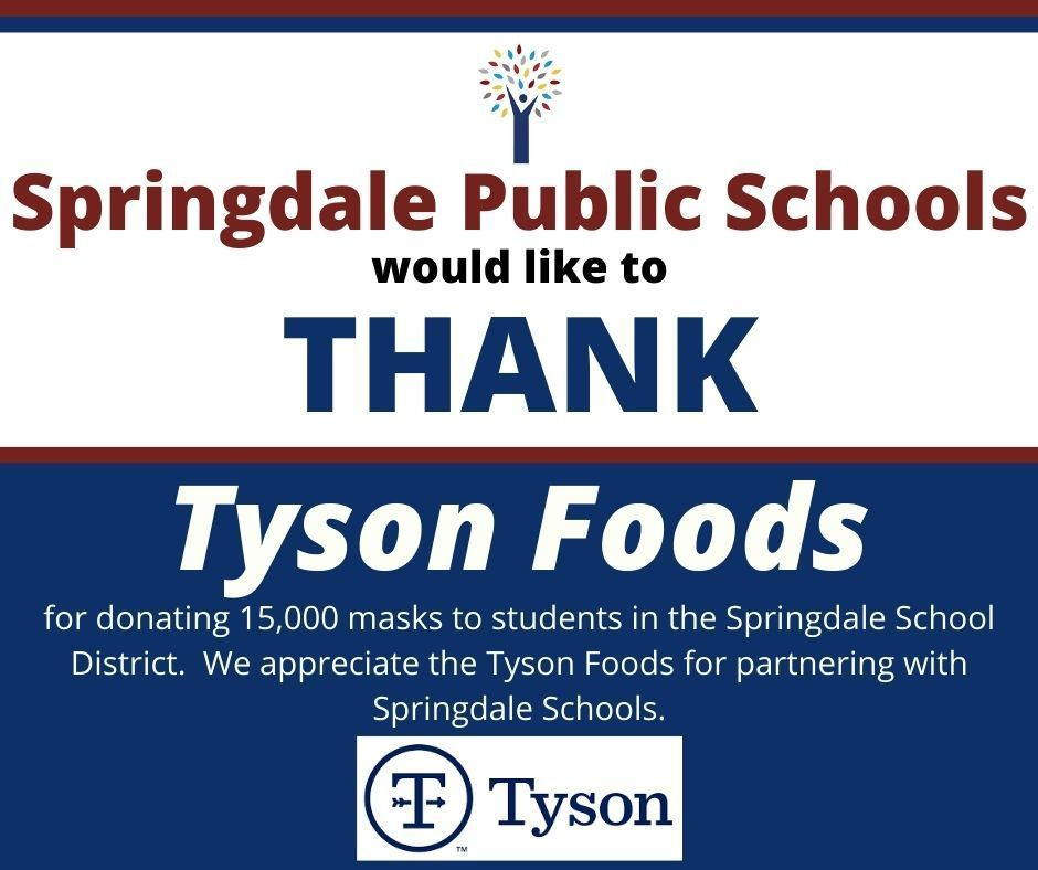 Thank YOu Tyson Foods