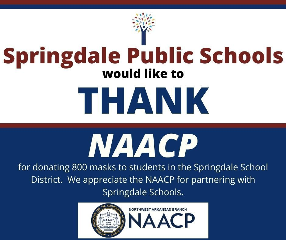 Thank you NAACP