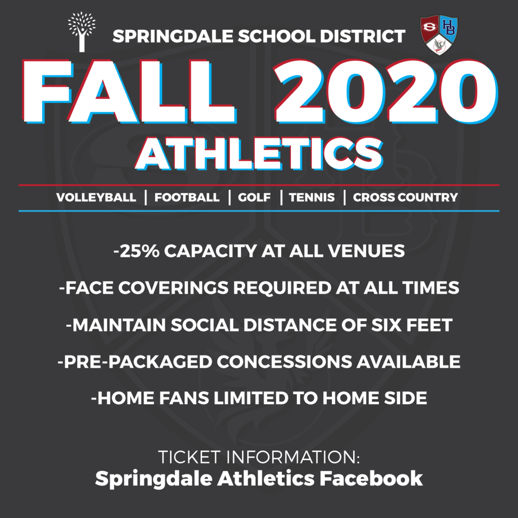 2020 Fall Athletics Venue