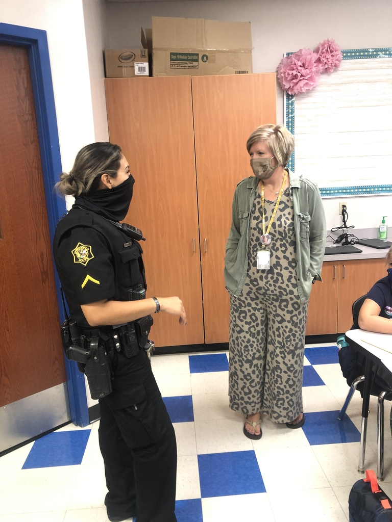 Even teachers are excited to see our SRO