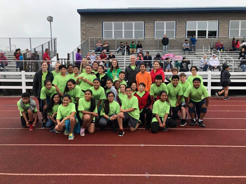 5th graders competed in Little Olympics