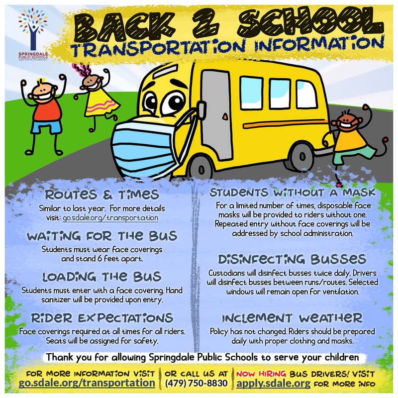 Back 2 School Transportation Information
